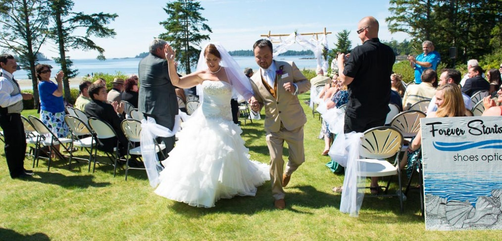 Fun wedding recessional an ode to the funnest walk down the aisle fun wedding recessional an ode to the funnest walk down the aisle ever timeless wedding and portrait photography victoria bc junglespirit Gallery
